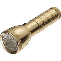 brass flashlight  | CB2