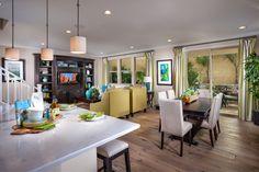 Alcantara Villas, a KB Home Community in Phoenix, AZ (Phoenix) Plan 1965 Great Room Living Room Designs, Living Room Decor, Living Rooms, Kb Homes, Phoenix Homes, New Home Builders, New Homes For Sale, Model Homes, Room Inspiration