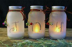 DIY Mason Jar Luminary | 32 DIY Mason Jar Crafts, check it out at http://youresopretty.com/32-diy-mason-jar-crafts/