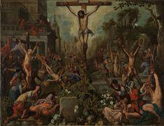 Jesus Christ an example for martyrs / Cristo ejemplo de mártires // circa 1615 // Atribuido a Juan de Roelas // #Christianity #martyrdom #faith