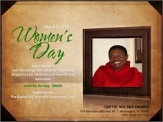 FLYER - Womens Day 03.09.13