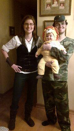 The Noecker clan Halloween 2012