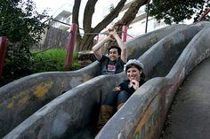 In the Castro: Seward Street Slides...strange, little known San Fran sights