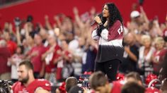 While Jerry Jones and the Dallas Cowboys were making their own statement Monday night, Jordin Sparks was also wading into the rash of peaceful protests. 2017.09.26.
