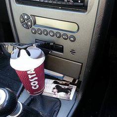 Costa Coffee Express  #coffee #coffeetime #happyfriday #coffeeaddict #coffeelover #instacoffee #instacoffeebreak #costa #costaexpress #costalatte #yummy #costacoffee #myshades  #coffeemoment #inmycar #mgcar #takeawaycoffee #ontheroad #carinterior #coffeestop #fridaycoffee #coffeeshot #costalatte  by paulknill