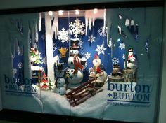Christmas Window Display from our Atlanta Showroom @AmericasMart Atlanta Summer 2013! #burtonandburton #christmas