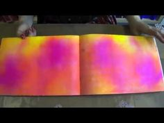 Ghosting with Dylusions sprays - tutorial by Dyan Reaveley.  Lots of video tutorials at http://shop.afth.co.uk/dyans-video-demos-12-w.asp