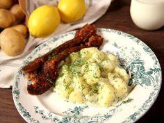 Isterband med citron- och dillstuvad potatis | Recept.nu