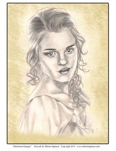 Hermione Granger by Sherrie Spencer