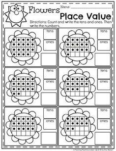 place value worksheets math worksheets for kids pinterest worksheets kindergarten. Black Bedroom Furniture Sets. Home Design Ideas