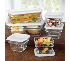 Shop Libby Glassware Save 'n Store 12-Piece Set, Rectangle at CHEFS.