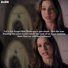 #PLL6x06 Spencer and her Mona theories