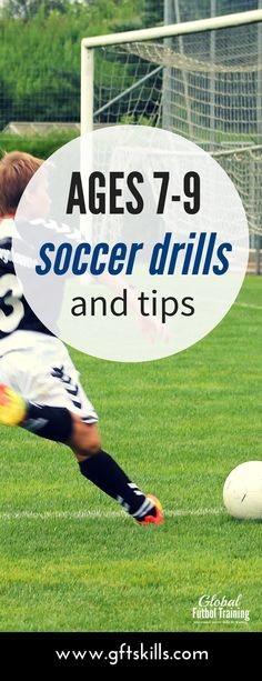 Amazing drills #soccertips for #youthsoccer kids ages 7-9