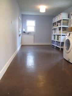 1000+ images about Concrete floors on Pinterest | Concrete floors, Painted concrete floors and ...