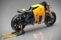 Koenigsegg Motorcycle Concept by Burov Art 4