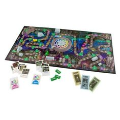 Come out to socialize with The Game of Life; The Haunted Mansion ''Welcome to the After-Life'' Disney Theme Park Edition. This re-incarnation of the classic board game scares-up a lifetime of fun as you race for a final resting place.