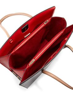 Christian Louboutin at Neiman Marcus Channel Bags, Leather Bag Design, Leather Handbags, Leather Totes, Leather Keychain, Handbags Online, Black Tote Bag, Christian Louboutin Shoes, Buy Shoes