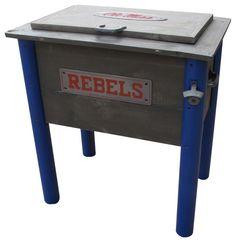 Ole Miss Rebels Collegiate Cooler on BourbonandBoots.com #olemiss #mississippi #tailgate