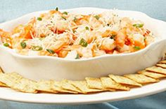 Shrimp cocktail is a hit at any party. This easy format is perfect for bringing to your next gathering. Kraft Recipes, Dip Recipes, Side Dish Recipes, Cooking Recipes, What's Cooking, Meal Recipes, Yummy Recipes, Appetizer Dips, Appetizers For Party