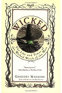 Wicked: The Life and Times of the Wicked Witch of the West by Gregory Maguire. Warning: In the beginning of the book you'll wonder how the plot relates to Wizard of Oz. Stick with it. It'll make sense later. I Love Books, Great Books, Books To Read, My Books, Gregory Maguire, Thing 1, Wicked Witch, Wicked Book, Cursed Child Book