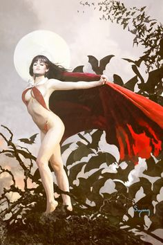 Vampirella Second Coming #1, by Arthur Suydam.