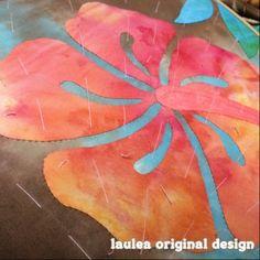 Hawaiian quilt Laulea Sachiko日記