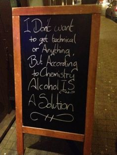 List of 35 street bar signs that will make you stop, read and grab a drink. Sometimes the creativity wins customers!