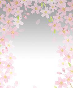 背景素材フリー渋い桜