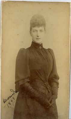 Queen Alexandra of England, Princess of Denmark c1893