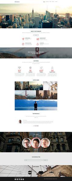 Business Website Template #58402
