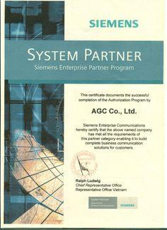 AGC Siemens partner
