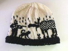 Knit Hunting Hat - Mens Knit Hat - Hunting Gear Hats - Moose Knit Hat - 73802083c068