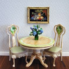 Country Dinning by Maritza Moran - $0.00 : Larrianne's Small Wonders, Delectable Miniatures for Discerning Collectors