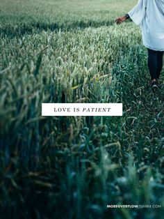 Love is patient 1 Corinthians 13:4-7 #30DaysOfBibleLettering