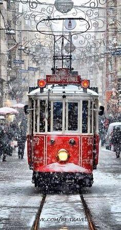Istanbul Taksim Tramway
