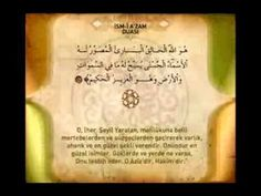 İsm-i Azam Duası