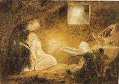 The Nativity — William Blake  BY BIBLIOKLEPT