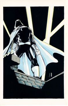 Moon Knight by Dave Sim Marvel Fanfare (March Marvel Comics Marvel Comic Character, Marvel Comic Books, Comic Book Characters, Marvel Comics, Marvel Heroes, Character Art, Fictional Characters, Moon Knight 2016, Moon Knight Comics