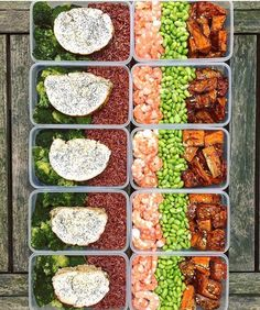 Another picture perfect meal prep by @lucasfotfrench for inspiration! A new month is upon us how are you going to make progress? - ALL-IN-ONE TOOL & GUIDES -  Build Custom Plans & Set Nutrition Goals  BMR BMI & Max Rate Calculator  Learn Your Macros by Body Type & Goal  Grocery Lists Automated to Weekly Needs  Accurate Cooking and Prep Summaries  Combine & Export Data for Two Plans  Track Your Progress & Daily Allowance  Food Lists for Clean Eating  Database of Over 7500 Foods  Sleep and…