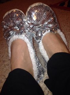 Sparkly Slippers