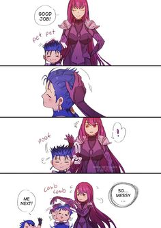 One of the reasons why Cu Chulainn was compared to a dog.