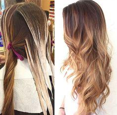 Hair Highlights - Le balayage californien – photos, techniques et les meilleures idées personnalisées