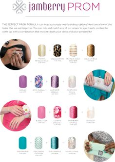Jamberry is perfect for prom!