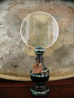 Back by POPULAR DEMAND Magnifying Glass (Standing Finial) Library.Nerd.Geekery.Study.Repurposed.Home Office Decor.Personalized Handstamped.
