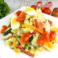 Cea mai bună salată de pui din lume – sănătoasă, rapidă și extrem de delicioasă - savuros.info Caprese Salad, Cobb Salad, Apple Broccoli Salad, Honeycrisp Apples, Mai, Food And Drink, Cooking Recipes, Chicken, Chef Recipes
