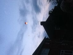 We released four lanterns for my nan