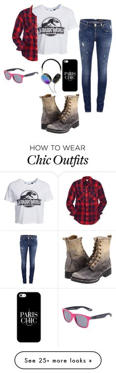 """""""Untitled #502"""" by rachellovell13 on Polyvore featuring New Look, ONLY, Aéropostale, Frye, Casetify, Frends and Vans"""