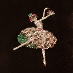 Ballerina Pin by Van Cleef & Arpels