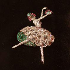 Ballerina Pin by Van Cleef & Arpels