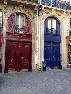 Two coloured doors (no Photoshop), Paris 5 Photo SeV